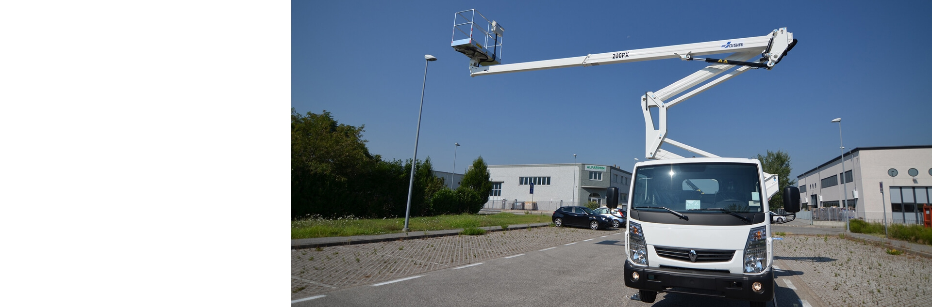 GSR presents a range of platforms with working heights from 14 to 36 meters